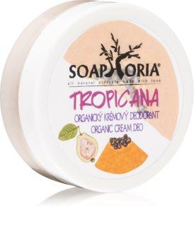 Soaphoria Tropicana desodorizante orgânico em creme