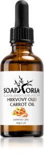 Soaphoria Organic  Nourishing Carrot Oil for Face, Body and Hair