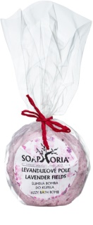 Soaphoria Lavender Fields fürdőbomba regeneráló hatással