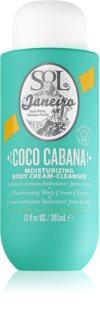 Sol de Janeiro Coco Cabana Moisturizing Body Cream-Cleanser intenzivní zvláčňující krém do sprchy