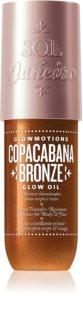 Sol de Janeiro GlowMotions Copacabana Bronze  třpytivý olej na tělo