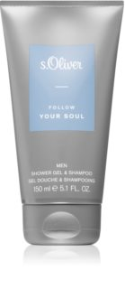 s.Oliver Follow Your Soul Men Brusegel og shampoo 2-i-1 til mænd