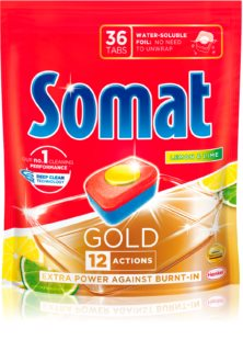 Somat Gold Lemon tablety do myčky