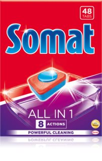 Somat All in 1 Lemon tablettes pour lave-vaisselle