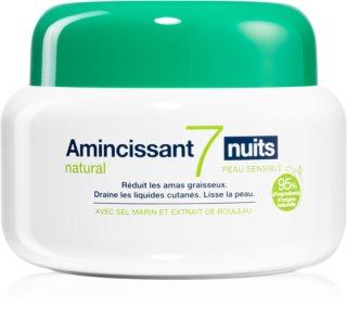 Somatoline Body Care intenzivna nočna nega za hujšanje za občutljivo kožo