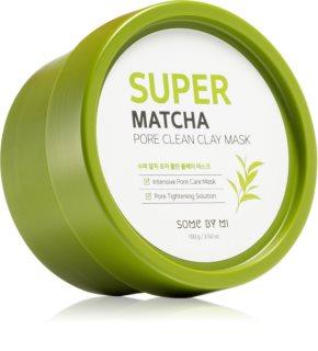 Some By Mi Super Matcha Pore Clean Rengörande lermask för ansiktet för por-åtdragning