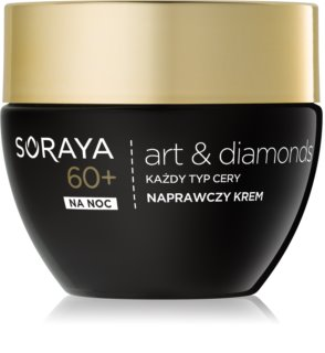 Soraya Art & Diamonds regenerierende Nachtcreme für die Erneuerung der Hautzellen