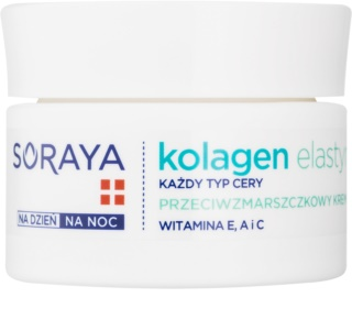 Soraya Collagen & Elastin protivráskový krém s vitamínmi
