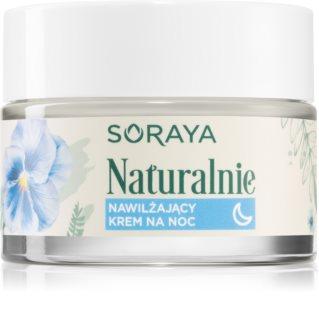 Soraya Naturally feuchtigkeitsspendende Nachtcreme