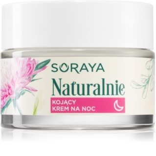Soraya Naturally успокояващ нощен крем  с лайка