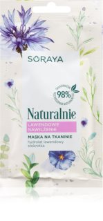 Soraya Naturally хидратираща платнена маска