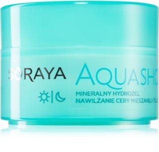 Soraya Aquashot gel hidratante com minerais