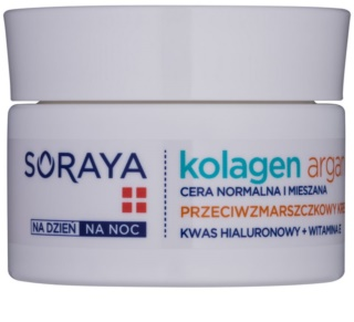 Soraya Collagen & Argan crema hidratanta anti-rid cu acid hialuronic