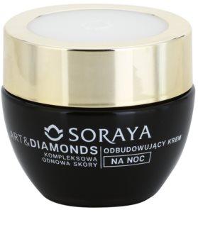 Soraya Art & Diamonds Verjongende Nachtcrème  voor Herstel van Huidcellen