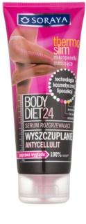 Soraya Body Diet 24 Schlankmachendes Anti-Cellulite-Serum mit wärmendem Effekt
