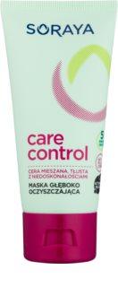 Soraya Care & Control Dieptereinigende Masker  voor Vette en Problematische Huid
