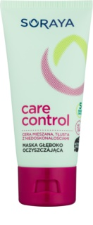 Soraya Care & Control maschera di pulizia profonda per pelli grasse e problematiche