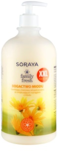 Soraya Family Fresh Creamy Shower Gel with Honey