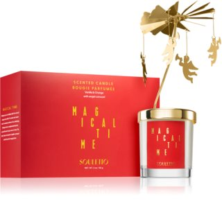Souletto Magical Time Vanilla & Orange vela perfumada com carrossel