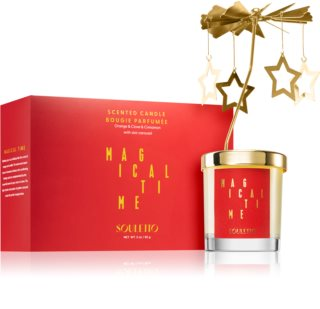 Souletto Magical Time Orange & Cinnamon vela perfumada com carrossel