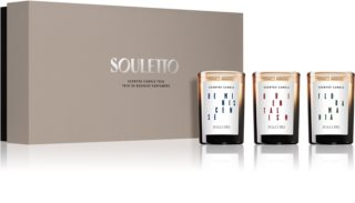 Souletto Scented Candle Trio poklon set