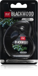 Splat Special Blackwood nić dentystyczna ze środkiem antybakteryjnym
