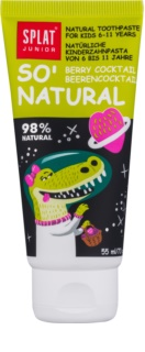 Splat Junior So' Natural dentifrice pour enfants 6-11 ans
