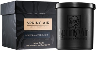 Spring Air Home Collection Pomegranate Delight Scented Candle 235 ml