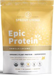 Sprout Living Epic Protein Organic veganský protein  vanilla & lucuma