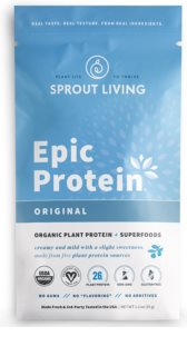 Sprout Living Epic Protein Organic Natural veganský protein