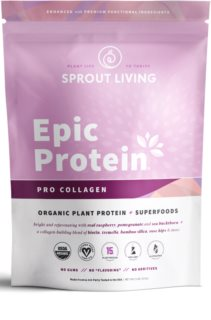 Sprout Living Epic Protein Organic Pro Collagen veganský protein s kolagenem