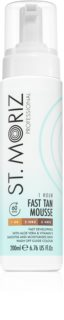 St. Moriz Self Tanning Fast Self Tanning Mousse