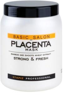 Stapiz Basic Salon Placenta Kosteuttava Naamio Hauraille Ja Stressaantuneille Hiuksille