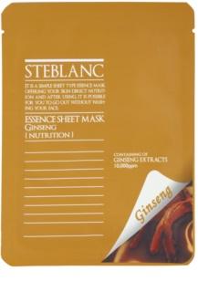 Steblanc Essence Sheet Mask Ginseng tápláló és megújító arcmaszk