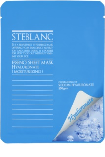 Steblanc Essence Sheet Mask Hyaluronate Maske für intensive Feuchtigkeitspflege der Haut