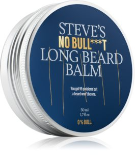 Steve´s  No Bull***t Long Beard Balm бальзам для вусів