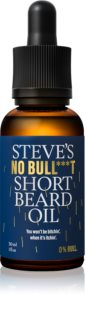 Steve´s  No Bull***t Short Beard Oil Baardolie