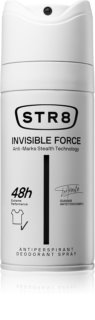 STR8 Invisible Force deodorant spray para homens