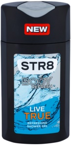 STR8 Live True gel de duche para homens