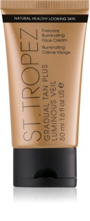 St.Tropez Gradual Tan Plus Luminous Veil crème visage pour un bronzage progressif