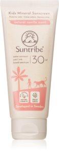 Suntribe Kids Mineral Sunscreen crema protettiva minerale per viso e corpo per bambini