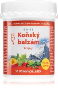 Swiss Koňský balzám hřejivý aromatický masážní balzám se zesíleným účinkem proti bolesti
