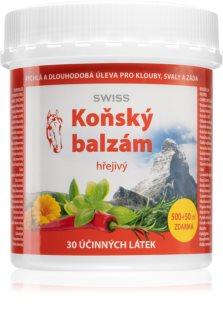 Swiss Koňský balzám hřejivý úleva od bolesti zad, svalů a kloubů