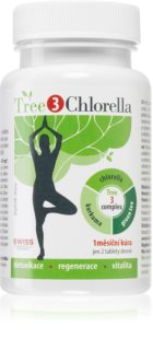 Swiss Tree3 Chlorella doplněk stravy pro detoxikaci organismu