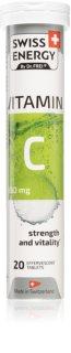 Swiss Energy Vitamin C 550mg šumivé tablety s vitaminem C
