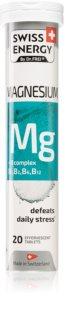 Swiss Energy Magnesium + B Komplex doplněk stravy  pro normální činnost nervové soustavy