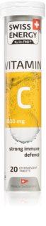 Swiss Energy Vitamin C 1000mg šumivé tablety