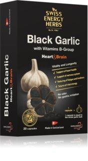 Swiss Energy Herbs Black garlic kvalitní výtažek z černého česneku