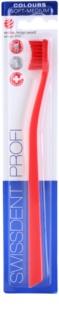 Swissdent Colours Single зубна щітка м'яка - середньої жорсткості