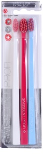 Swissdent Gentle Trio Toothbrushes, 3 pcs Extra Soft